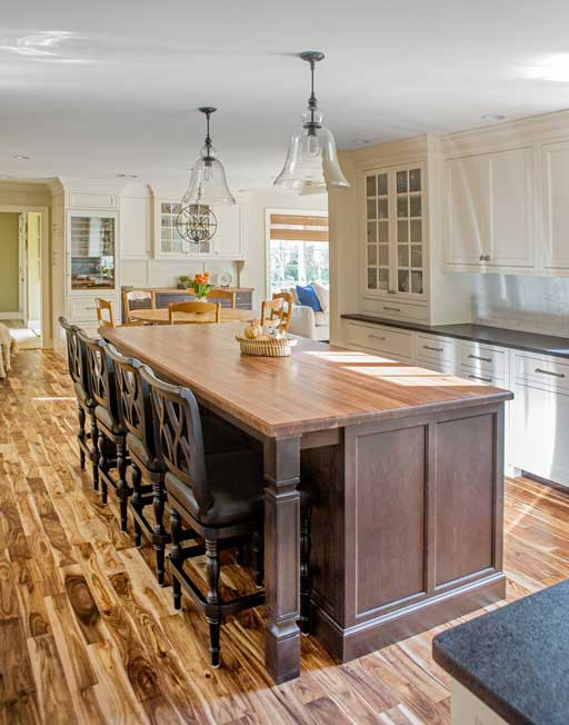 norwell, massachusetts kitchen remodel project