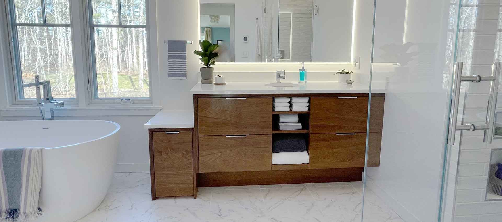 Norwell Master Bath Remodel